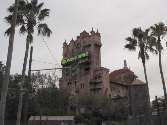 WDW ハリウッドスタジオ タワー・オブ・テラー