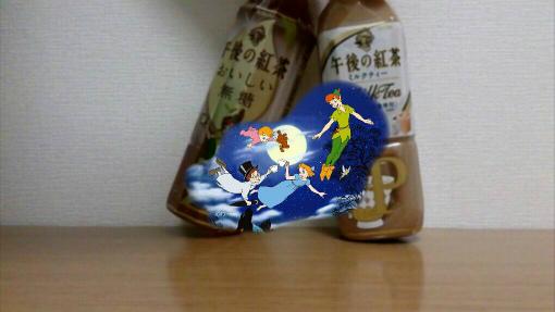午後の紅茶_ディズニーカンパイカメラ_ピーターパン×ティンカーベル