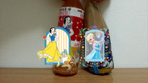 午後の紅茶_ディズニーカンパイカメラ_白雪姫×エルサ