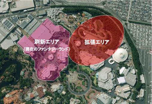 東京ディズニーランド_ファンタジーランド再開発エリア