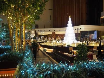 東京ベイ舞浜ホテル ロビークリスマス