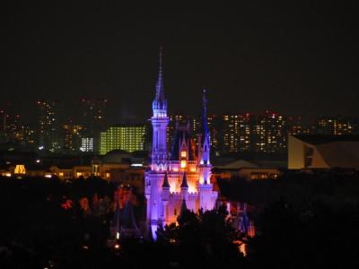 東京ベイ舞浜ホテル 客室 シンデレラ城の眺め