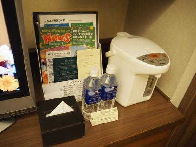 東京ベイ舞浜ホテル 客室 ポット
