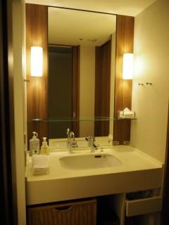 東京ベイ舞浜ホテル 客室 洗面台
