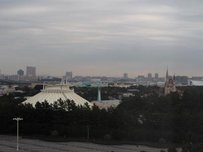 東京ベイ舞浜ホテル 客室 東京ディズニーランドの眺め