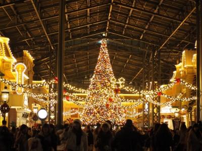 東京ディズニーランド クリスマスツリー
