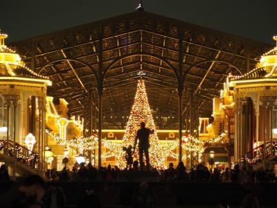 東京ディズニーランド クリスマスツリー パートナーズ