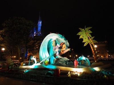 東京ディズニーランド クリスマス フォトロケーション リロ&スティッチ