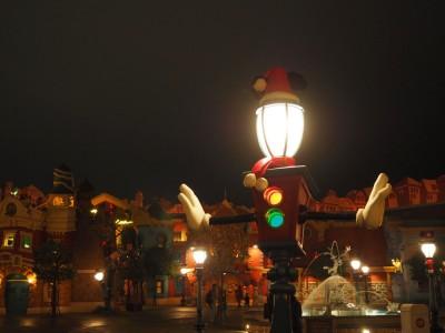 東京ディズニーランド クリスマス フォトロケーション トゥーンタウン