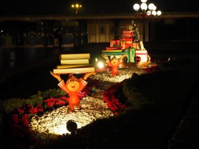 東京ディズニーランド クリスマス フォトロケーション エントランス