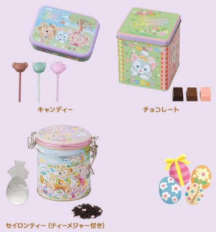 ダッフィーのイースター・フェア_お菓子類01