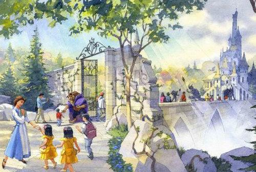 東京ディズニーランド ファンタジーランド_拡張案_『美女と野獣』をテーマとしたエリア