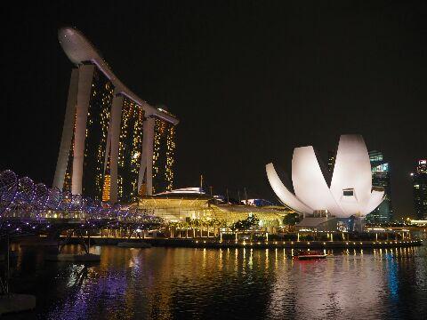 シンガポール_夜景