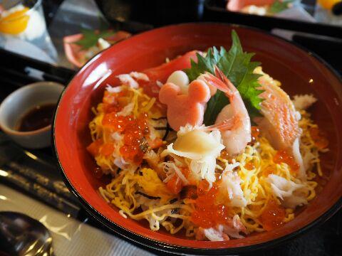 れすとらん北齋_ディズニー夏祭りスペシャル膳_祭りちらし寿司