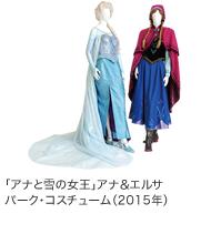 ディズニープリンセスとアナと雪の女王展  アナと雪の女王 パーク・コスチューム