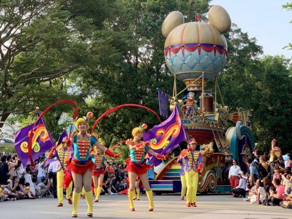 フライト・オブ・ファンタジー・パレード 香港ディズニーランド