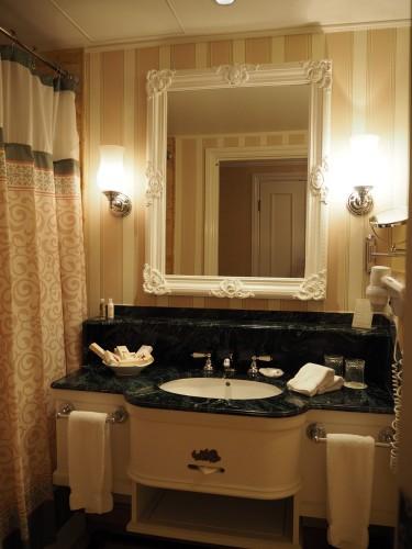 香港ディズニーランドホテル 洗面所