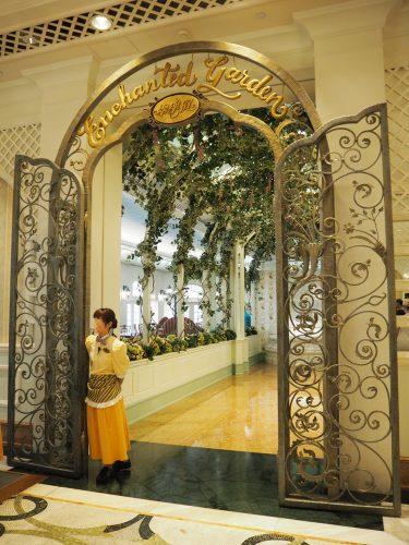 香港ディズニーランドホテル エンチャンテッドガーデン 入口