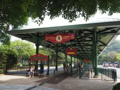 香港ディズニーランド ホテル行きシャトルバス乗り場