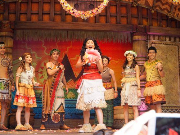モアナ:ホーム・カミング・セレブレーション 香港ディズニーランド