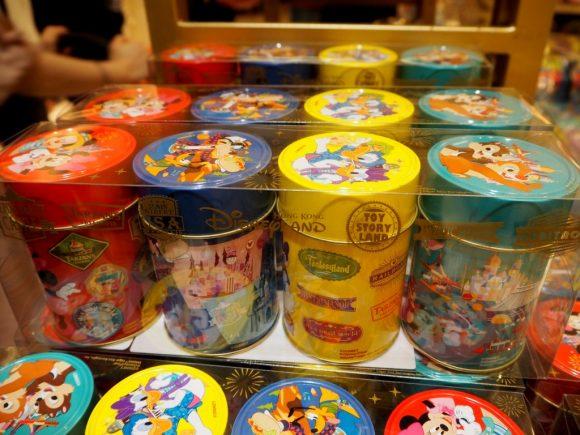 香港ディズニーランド お菓子缶セット