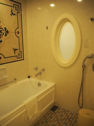 東京ディズニーランドホテル タレットルーム お風呂