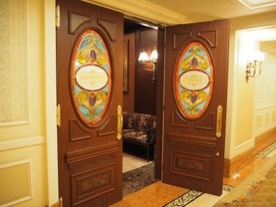 東京ディズニーランドホテル マーセリンサロン 入口