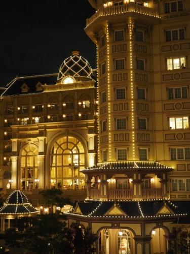 東京ディズニーランドホテル タレットルーム 場所