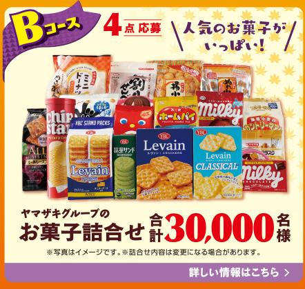 ヤマザキ 秋のおいしいキャンペーン Bコース