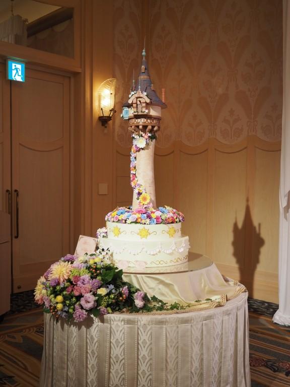 ブライダル・ドリーム・プレビュー 塔の上のラプンツェルのケーキ