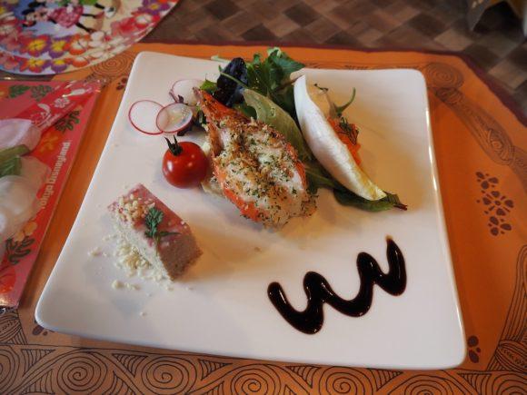 リロのルアウ&ファン 前菜の盛り合わせ