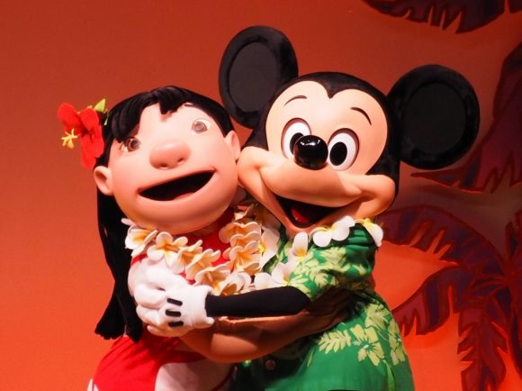 リロのルアウ&ファン ミッキー&リロ