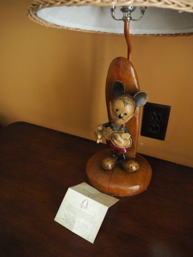 アウラニ 14階のミッキーランプ