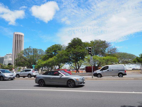 ハワイの道路
