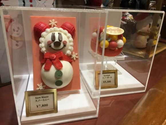 東京ディズニーリゾート クリスマスアイスケーキ