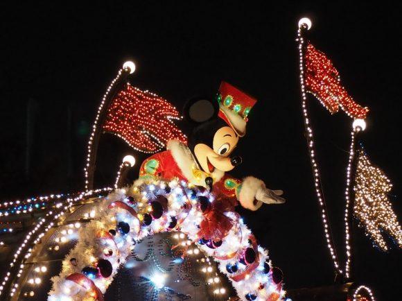 エレクトリカルパレード クリスマス ミッキー