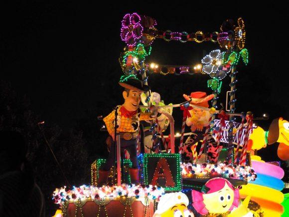 エレクトリカルパレード クリスマス トイストーリー