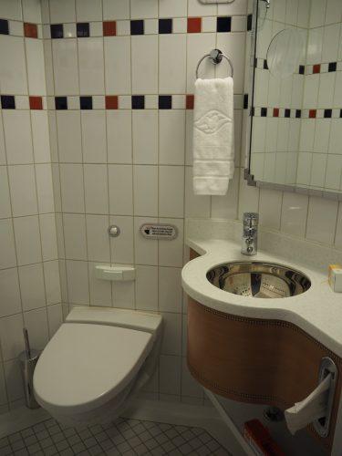 DCL客室 トイレ