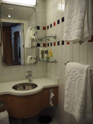 DCL客室 お風呂