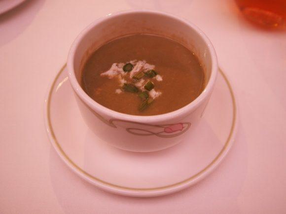 DCL エンチャンテッドガーテン アスパラガスのクリームスープ