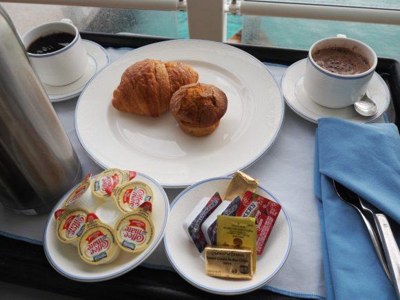 DCL ルームサービス 朝食