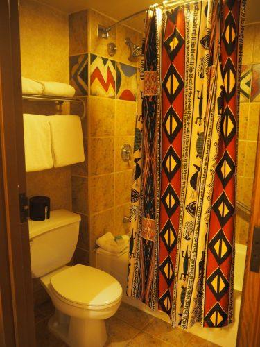 アニマルキングダムロッジ バス&トイレ
