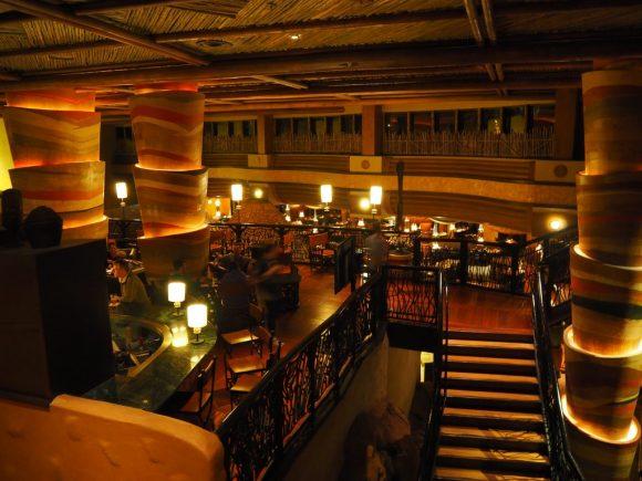 アニマルキングダムロッジ レストラン