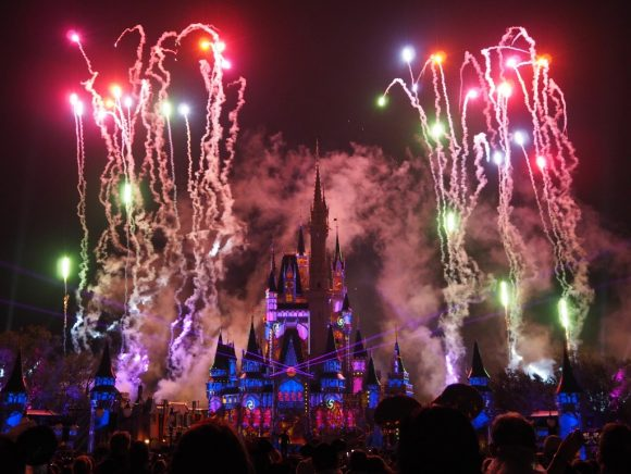 WDW Happily Ever After レーザー