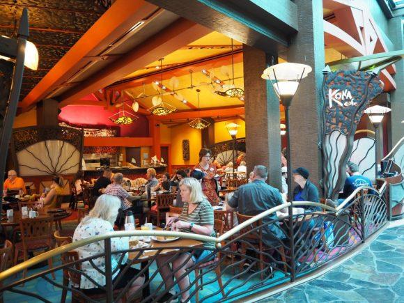 WDW ポリネシアンビレッジリゾート コナカフェ