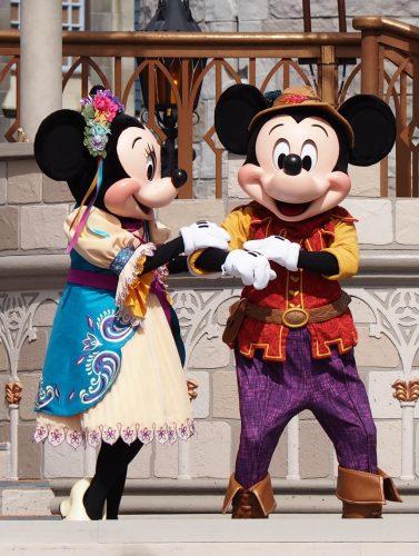 WDW ミッキーのロイヤルフレンドシップフェア ミッキー&ミニー