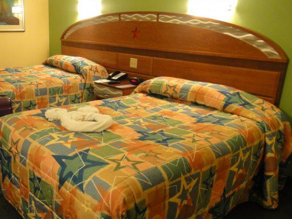 WDW オールスターリゾート ベッド