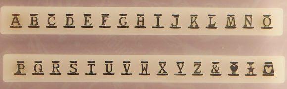 タイムオブセレブレーション アルファベットパーツ
