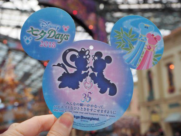 東京ディズニーランド ウィッシングカード