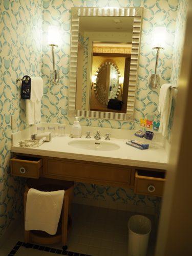 アンバサダーホテル 洗面台